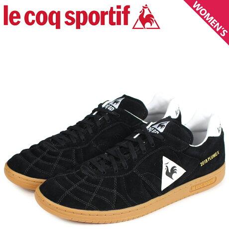 ルコック スポルティフ le coq sportif メンズ スニーカー プリューム X PLUME X ブラック QL1MJC51BK [9/8 新入荷]