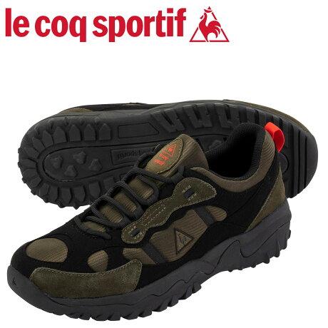 ルコック スポルティフ le coq sportif スニーカー エル ワンダラー メンズ L-WANDERER オリーブ QL1OJC69OV [予約商品 10/16頃入荷予定 新入荷]