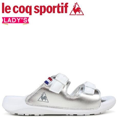 ルコック スポルティフ le coq sportif レディース サンダル LA ジュアン リラックス 2 LA JUAN RELAX 2 ホワイト QL3LJE31SV [5/18 新入荷]