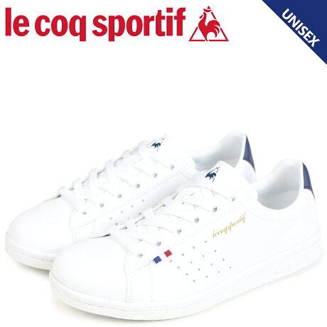 ルコック スポルティフ le coq sportif メンズ レディース スニーカー LA ローラン LA ROLAND LE ホワイト QMT-7314WN [予約商品 9/6頃入荷予定 新入荷]