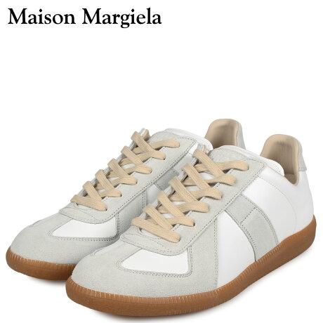 メゾンマルジェラ MAISON MARGIELA レプリカ ロートップ スニーカー メンズ REPLICA LOW TOP オフ ホワイト S57WS0236-P1895 [10/7 新入荷]