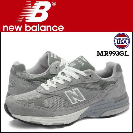new balance ニューバランス 993 スニーカー MADE IN USA MR993GL 3ワイズ メンズ 靴 グレー