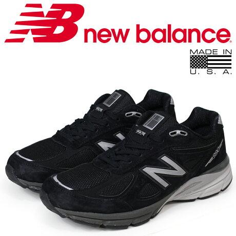 ニューバランス 990 メンズ new balance スニーカー M990BK4 Dワイズ MADE IN USA 靴 ブラック [5/26 再入荷]