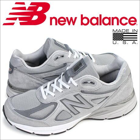 ニューバランス 990 メンズ new balance スニーカー M990GL4 Dワイズ 靴 グレー [予約商品 5/26頃入荷予定 再入荷]