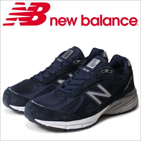 ニューバランス 990 メンズ new balance スニーカー M990NV4 Dワイズ 靴 ネイビー MADE IN USA [予約商品 5/26頃入荷予定 再入荷]