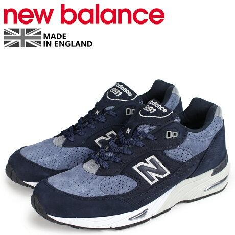 ニューバランス 991 メンズ new balance スニーカー M991NVB Dワイズ MADE IN UK ネイビー [予約商品 10/19頃入荷予定 新入荷]