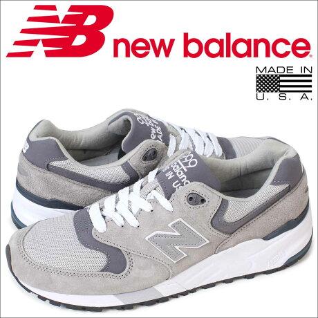 ニューバランス 999 メンズ new balance スニーカー M999CGL Dワイズ MADE IN USA 靴 グレー [予約商品 5/26頃入荷予定 追加入荷]
