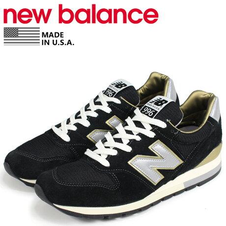 ニューバランス 996 メンズ new balance スニーカー ML996EK Dワイズ MADE IN USA ブラック [予約商品 9/6頃入荷予定 新入荷]