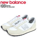 new balance ニューバランス スニーカー メンズ Dワイズ MADE IN UK ホワイト...
