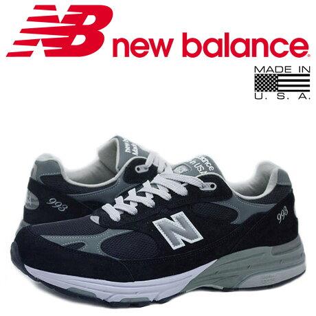 ニューバランス 993 new balance スニーカー MADE IN USA MR993BK 3ワイズ メンズ 靴 ブラック