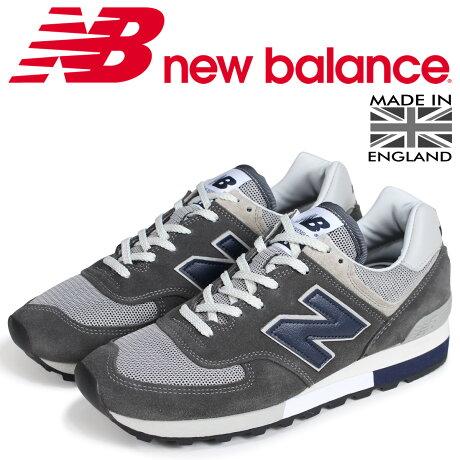 new balance 576 メンズ ニューバランス スニーカー OM576OGG Dワイズ MADE IN UK グレー [7/6 新入荷]