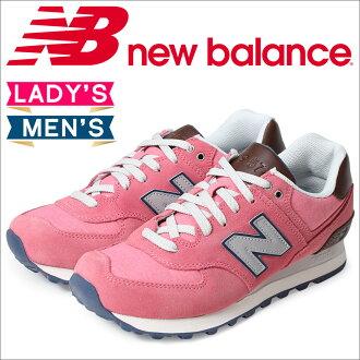 [最大2000日圆OFF優惠券]新平衡574男子的女子的new balance運動鞋WL574BEB B懷斯鞋粉紅[12/9新進貨]