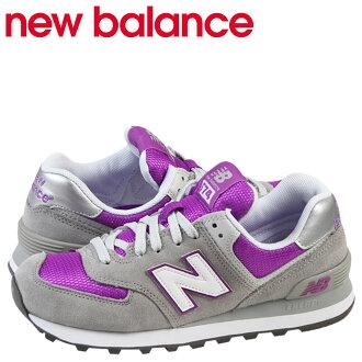 新平衡new balance 574女子的運動鞋WL574GPC B WISEMEN鞋灰色