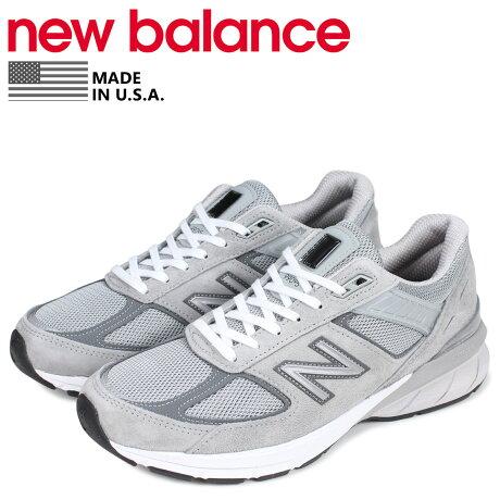 ニューバランス new balance 990 スニーカー メンズ Dワイズ MADE IN USA グレー M990GL5 [予約 1/28 追加入荷予定]