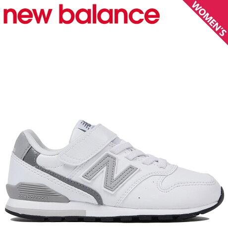 ニューバランス new balance 996 スニーカー レディース キッズ Mワイズ ホワイト 白 YV996LWH [予約商品 10/31頃入荷予定 新入荷]