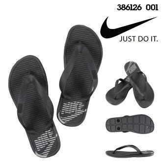 [9000雙耐吉NIKE涼鞋鉗子涼鞋SOLARSOFT THONG 386126-001黑色人的]