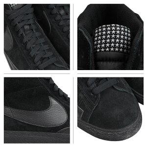 ナイキNIKEブレーザースニーカーBLAZERMIDPRMVNTGブレザーミッドプレミアムビンテージ638261-016メンズレディース靴ブラック[1/22新入荷]