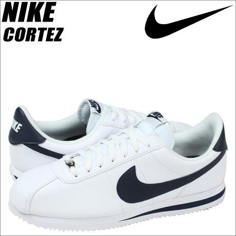 ナイキ NIKE コルテッツ スニーカー CORTEZ BASIC LEATHER 819719-141 メンズ 靴 ホワイト [予約商品 3/15頃入荷予定 再入荷]