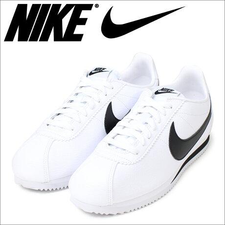 ナイキ NIKE コルテッツ スニーカー CLASSIC CORTEZ LEATHER 749571-100 メンズ 靴 ホワイト [予約商品 6/15頃入荷予定 再入荷]