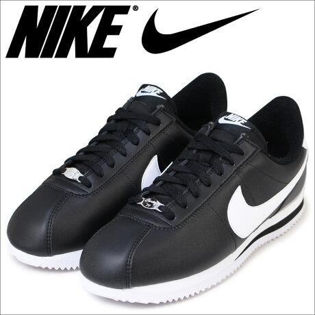 ナイキ NIKE コルテッツ スニーカー CORTEZ BASIC LEATHER 819719-012 メンズ 靴 ブラック [予約商品 6/15頃入荷予定 追加入荷]