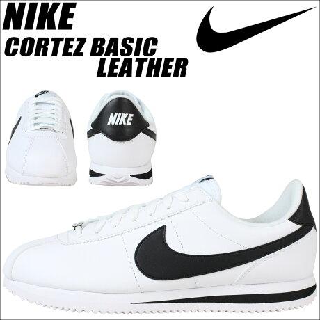 ナイキ NIKE コルテッツ スニーカー CORTEZ BASIC LEATHER 819719-100 メンズ 靴 ホワイト [予約商品 6/15頃入荷予定 追加入荷]