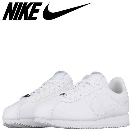 ナイキ NIKE コルテッツ レザー スニーカー CORTEZ BASIC LEATHER 819719-110 メンズ 靴 ホワイト [予約商品 3/15頃入荷予定 再入荷]