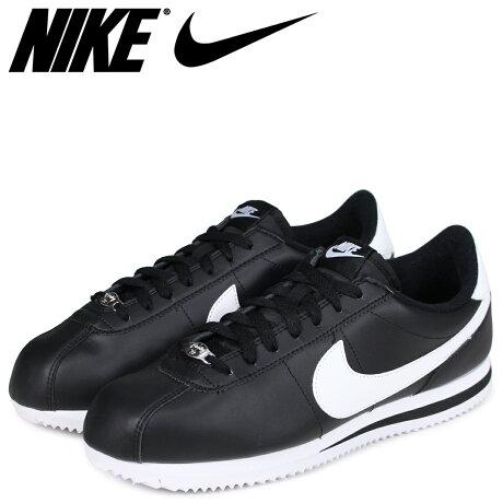 ナイキ NIKE コルテッツ スニーカー CORTEZ BASIC LEATHER 819719-012 メンズ 靴 ブラック [予約商品 6/29頃入荷予定 追加入荷]