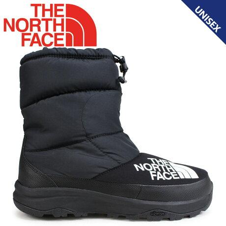 THE NORTH FACE ノースフェイス ヌプシブーティ ブーツ メンズ レディース NUPTSE DOWN BOOTIE ブラック NF51877 [11/16 新入荷]