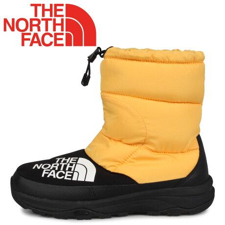 ノースフェイス THE NORTH FACE ヌプシ ダウンブーティ ブーツ メンズ レディース NUPTSE DOWN BOOTIE イエロー NF51877 [9/20 新入荷]