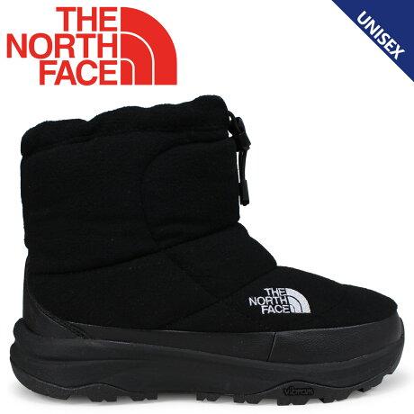 THE NORTH FACE NUPTSE BOOTIE WOOL IV SHORT ノースフェイス ヌブシブーティ ブーツ メンズ レディース ブラック NF51879 [9/21 新入荷] [1810]