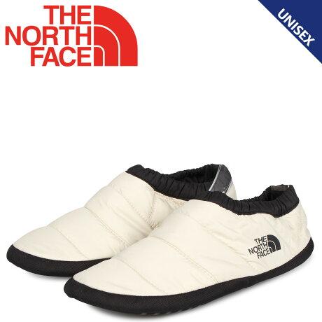 ノースフェイス THE NORTH FACE スリッポン モックシューズ ルームシューズ トラバース コンパクト モック メンズ レディース TRAVERSE COMPACT MOC ホワイト 白 NF51993 [9/20 新入荷]
