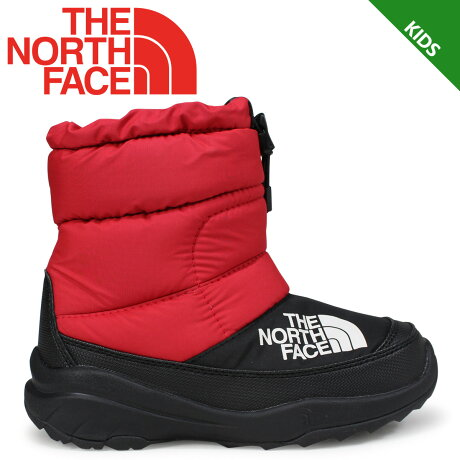 THE NORTH FACE NUPTSE BOOTIE V ノースフェイス キッズ ヌプシブーティ ブーツ レッド NFJ51881 [9/21 新入荷] [1810]