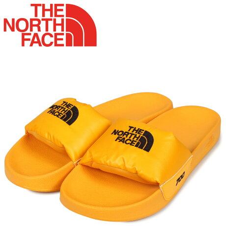 ノースフェイス THE NORTH FACE ヌプシ スライド サンダル スポーツサンダル メンズ NUPTSE SLIDE イエロー T947AH [10/17 新入荷]