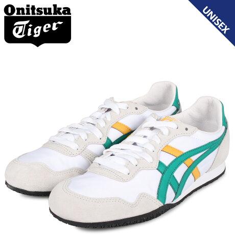 オニツカタイガー Onitsuka Tiger セラーノ スニーカー メンズ レディース SERRANO ホワイト 白 1183A237-101 [予約商品 9/13頃入荷予定 新入荷]