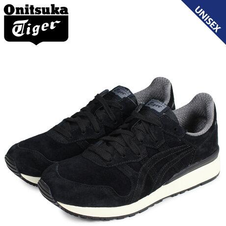 オニツカタイガー Onitsuka Tiger タイガー アリー スニーカー メンズ レディース TIGER ALLY ブラック D701L-9090 [8/1 追加入荷]