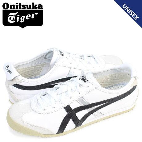 Onitsuka Tiger メキシコ 66 オニツカタイガー MEXICO 66 メンズ レディース スニーカー DL408-0190 靴 ホワイト 白
