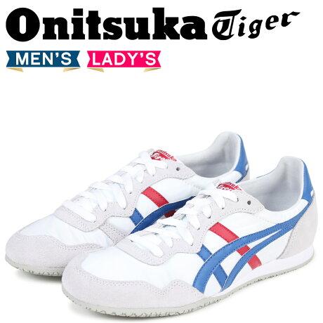 オニツカタイガー セラーノ Onitsuka Tiger SERRANO メンズ レディース スニーカー D109L-0142 TH109L-0142 ホワイト [予約商品 5/17頃入荷予定 追加入荷]