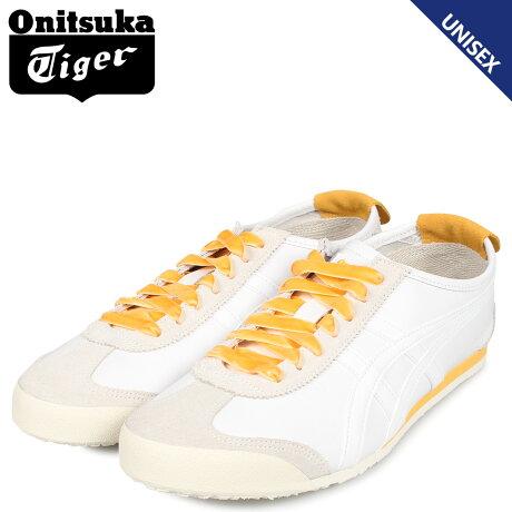 オニツカタイガー Onitsuka Tiger メキシコ 66 スニーカー メンズ レディース MEXICO 66 ホワイト 白 1182A104-101 [予約商品 10/11頃入荷予定 新入荷]