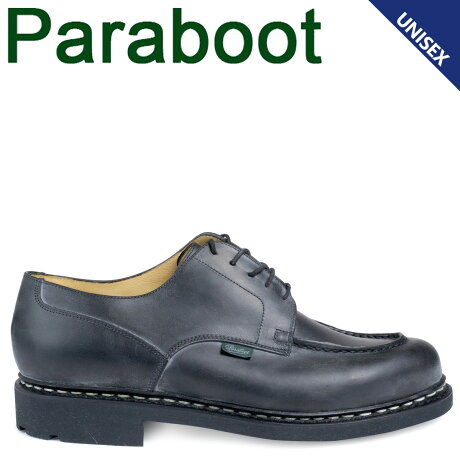 パラブーツ PARABOOT シャンボード CHAMBORD シューズ チロリアンシューズ 710709 メンズ レディース ブラック [予約 1/28 追加入荷予定]