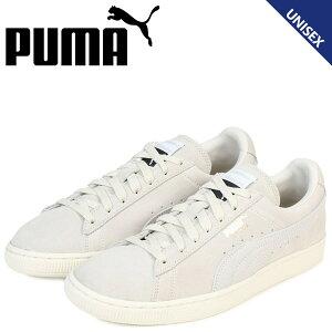 PUMAプーマスエードクラシックスニーカーSUEDECLASSIC+363242-29メンズレディース靴アイボリー[予約商品12/14頃入荷予定新入荷]