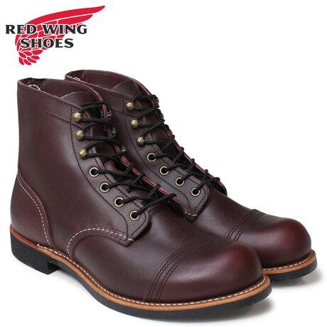 レッドウィング RED WING ブーツ ワークブーツ 6INCH IRON RANGER アイアンレンジャー Dワイズ 8119 メンズ [予約商品 2/10頃入荷予定 追加入荷]