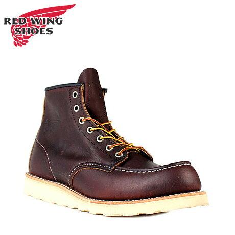 レッドウィング RED WING ブーツ 6インチ クラシック モック 6INCH CLASSIC MOC Dワイズ 8138 メンズ レディース [予約商品 2/10頃入荷予定 追加入荷]