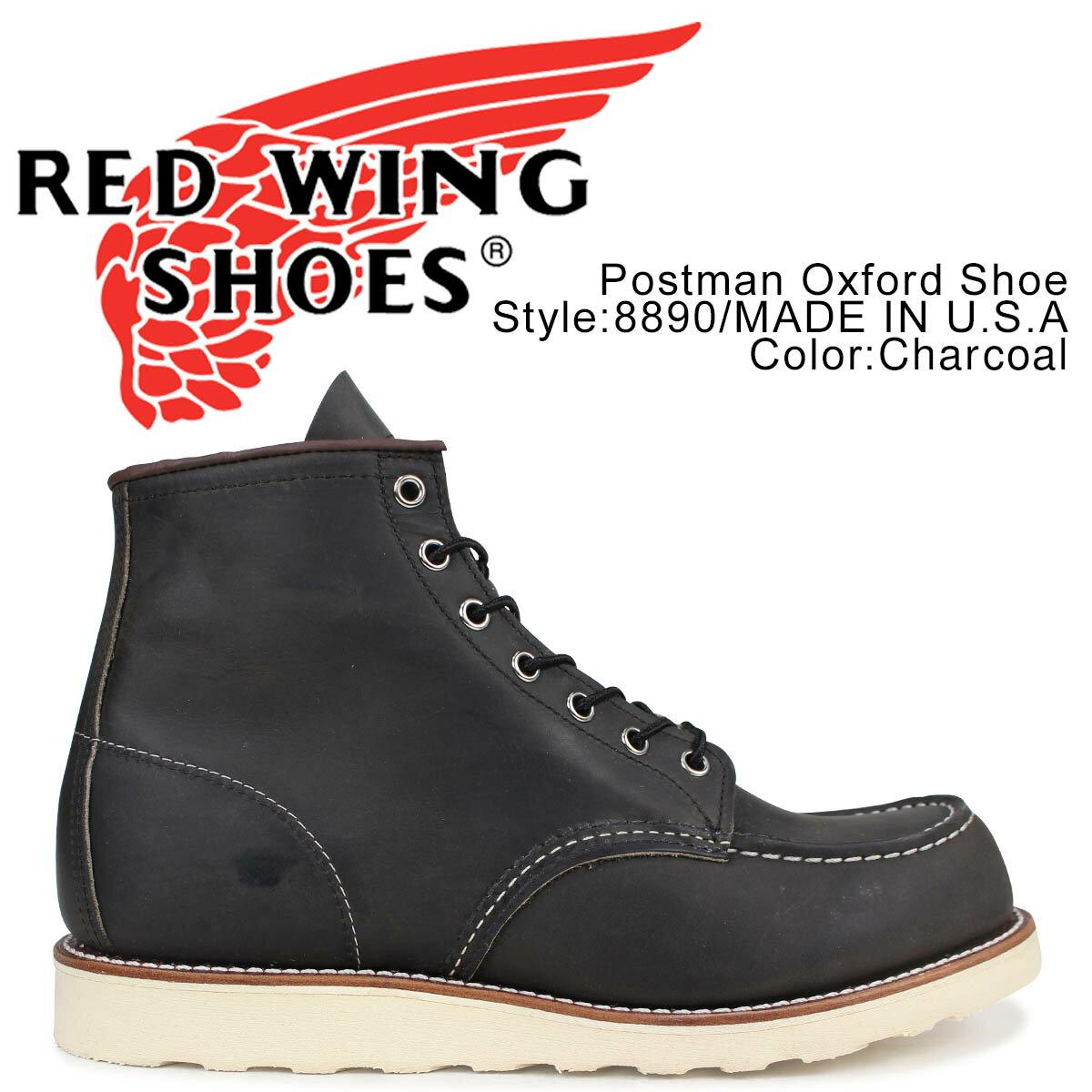 ブーツ, ワーク 1000OFF RED WING 6 6INCH CLASSIC MOC D 8890