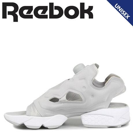 Reebok リーボック インスタ ポンプフューリー サンダル スポーツサンダル メンズ レディース INSTAPUMP FURY SANDAL ライト グレー DV9697