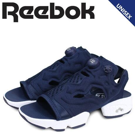 Reebok リーボック インスタ ポンプフューリー サンダル スポーツサンダル メンズ レディース INSTAPUMP FURY SANDAL ネイビー DV9698