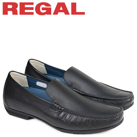 リーガル REGAL 靴 メンズ ヴァンプ 56HRAF ドライビングシューズ カジュアル ブラック