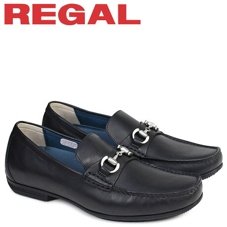 リーガル 靴 メンズ REGAL ドライビングシューズ 57HRAF カジュアル ブラック