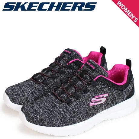 SKECHERS スケッチャーズ ダイナマイト2.0 レディース スニーカー DYNAMIGHT 2.0 IN A FLASH 12965 ブラック 黒