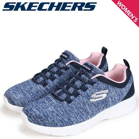 SKECHERS スケッチャーズ ダイナマイト2.0 レディース スニーカー DYNAMIGHT 2.0 IN A FLASH 12965 ネイビー