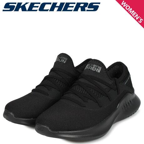 スケッチャーズ SKECHERS ゴーラン スニーカー レディース GO RUN MOJO 2.0 ブラック 黒 16051 [10/3 新入荷]